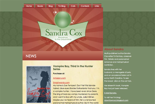 Sandra Cox Website