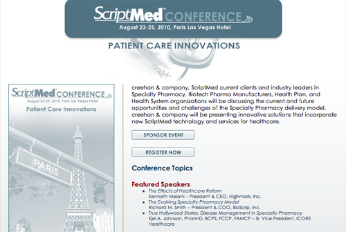 ScriptMed 2010 Website