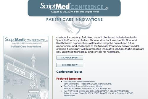 ScriptMed 2010 Website